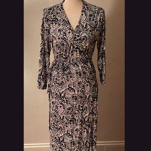 Boden Jersey Maxi Wrap Dress
